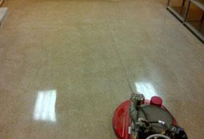 After: (South Texas College- Polished Concrete 1500 grit, no color)